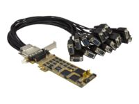 StarTech.com 16 Port PCI Express Serial Card - High-Speed PCIe Serial Card - ...